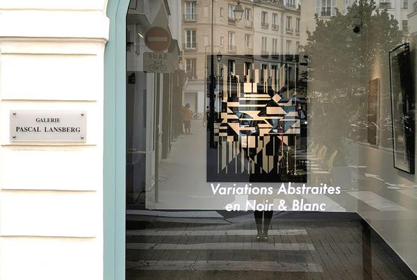 Réflexions en Noir et Blanc sur l'abstraction européenne & LE PARI(S), La Semaine de l'Art 2020
