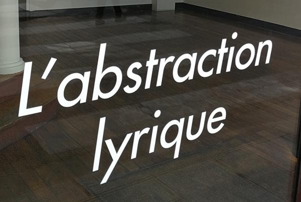L'abstraction lyrique 2017